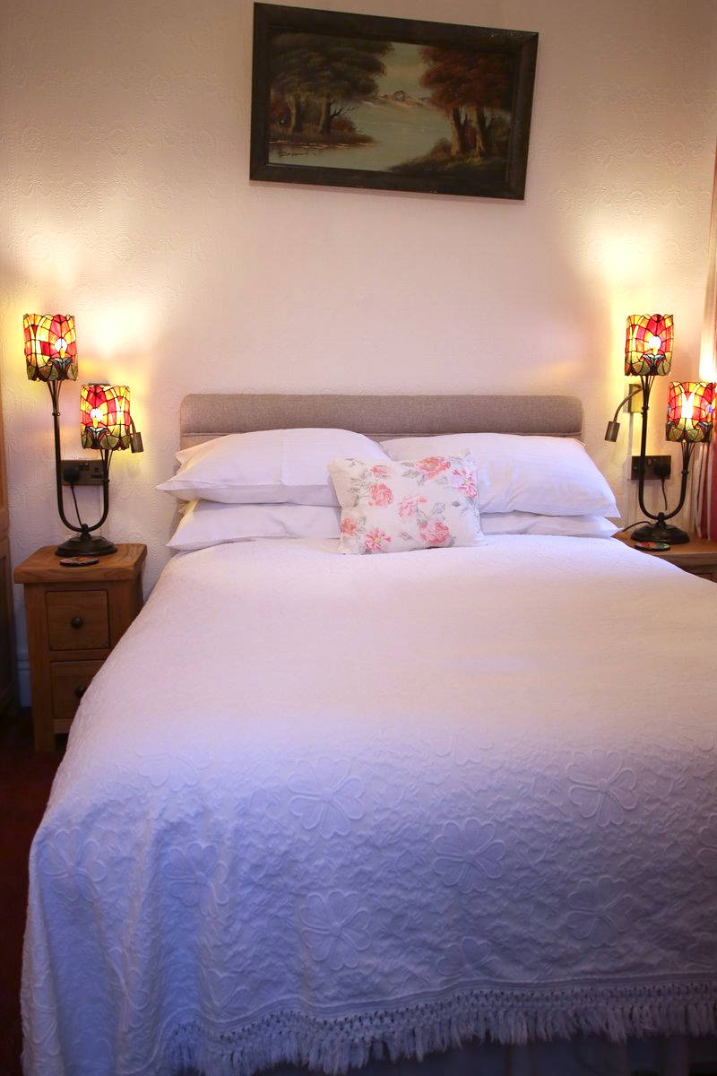 An image of Greylands Guesthouse Llandrindod Double Room Nightingale 003 goes here.