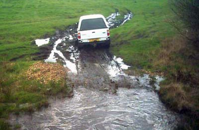 Image of The area of Powys around Llandrindod Wells is rich in opportunities for offroad driving